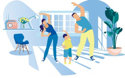 How to Exercise with Kids at Home